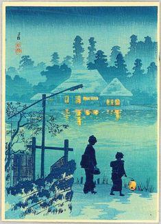 Hiroaki Takahashi (Japanese Woodblock Print)