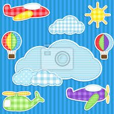 Resultado de imagen para vinilos para pared infantiles aviones