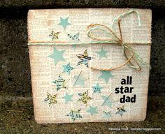 All Star Dad Card - Scrapbook.com