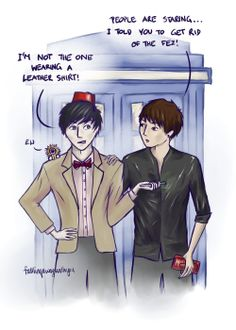 Dan and Phil Doctor Who well this could possibly be the best thing ever.