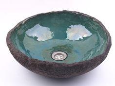 handmade sink, handmade basin, ceramic sink, ceramic washbasin, waschbecken