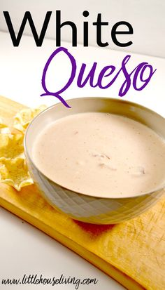 This delicious recipe for white Cheese Dip has a little bit of a kick to it!
