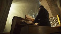 "From the opening scene from the television drama ""Killing of a Comrade"" filmed by Michal Krejci - Cameraman in Prague.   http://taylor-film.com/  #organ #te deum #mass #cameraman #cinematographer #movie"