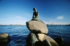 DENMARK - Copenhagen - 10 free things to do in Copenhagen - The Little Mermaid, Copenhagen