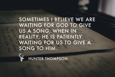 Recently, Hunter Thompson spent time in the mountains. Surrounded by nothing but God's beauty in nature, he discovered that in dry seasons, all that is asked of us is to press into the process. http://bethelmusic.com/blog/the-inspiration-of-discipline