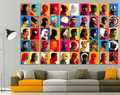 Marvel Poster Marvel Gifts For Men Captain Marvel Avengers Wall Art Marvel Superhero Teen Boy Gift - Products - Geschenke Framed Wall Art, Wall Art Decor, Wall Art Prints, Poster Prints, The Avengers, Captain Marvel, Matisse Art, Henri Matisse, Bauhaus Art