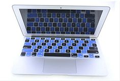 HQF Champagne Gold 12-in Laptop Keyboard Skin - Silicone Rubber Keyboard Cover Skin Stickers Protector for 12 New Apple MacBook 12-Inch with Retina Display 2015US Version