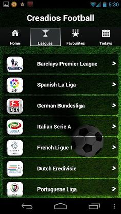 The best football app, covering all the major football leagues and the only app to give you latest football video highlights for free! We cover the Premier League, Bundesliga, La Liga, Ligue 1, Champions League, Serie A, MLS and a LOT more. We also got live commentaries written by football experts for the major leagues in english.<br> <br>Also featuring:<br>☆ Match Video Highlights<br>☆ Goal Video Highlights<br>☆ Livescore Updates<br>☆ Score alerts / notifications for your favorite teams…