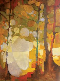 Ones to Watch: Olivia Pendergast - Western Art & Architecture Abstract Landscape Painting, Landscape Art, Landscape Paintings, Abstract Art, Abstract Trees, Abstract Paintings, Autumn Painting, Western Art, Tree Art