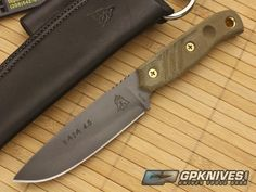 TOPS BAJA 4.5 Fixed Blade Knife