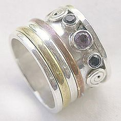 Meditation Rings for women and rings for men. Also known as worry rings or prayer rings. Browse our online jewellery store for hand crafted sterling silver meditation rings. Semi precious gemstones, unique designs and hand made. Rings in India and Nepal   Cahoia Creations   Vancouver Island, BC, Canada