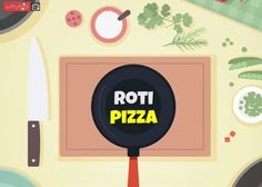 How To Make Roti Pizza || WittyFeed