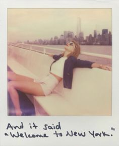 "You know what i just realized Tay is finally living in a big city like out of the song ""mean"" she wrote :) you fo Taylor :D"