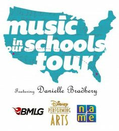 Coming March 2 – March 8 – the biggest awareness raising event for music education..EVER!   This year, NAfME's Give a Note Foundation and Disney Performing Arts have joined forces with Season 4 winner of The Voice, Danielle Bradbery, to celebrate music education with a week-long nationwide bus tour stopping in five schools to recognize excellence in music education and the value of a supportive community.