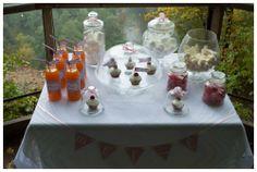 Saldaus vestuvių dekoro pavyzdys