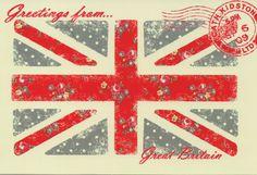 Patriotic postcard-Cath Kidstone