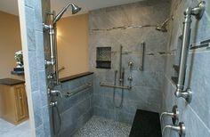 Millman Bathroom - modern - bathroom - baltimore - by NLT Construction.Co.Inc.