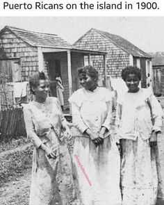 Puerto Ricans on the island in 1900