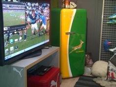 Rugby man cave