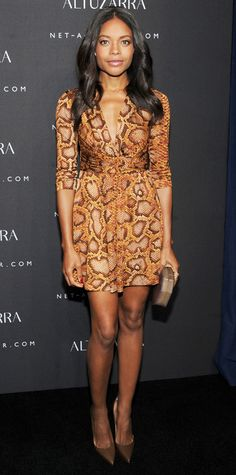 Naomie Harris in Altuzarra for Target