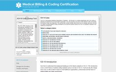 http://medicalbillingandcodingcertification.net/  Find the ICD-10 code for diseases.  Search mortality statistics for ailments.
