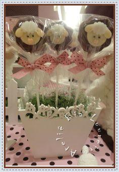 Convite virtual festa ovelhinha / carneirinho Mesa de doces- ovelhinha/ carneirinho pão de mel decorado com ovelhinha ...