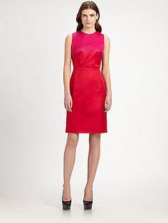 Burberry Prorsum Silk Ombré Dress - $1495