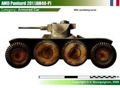 Panhard 201 (AM40-P) Armored Car