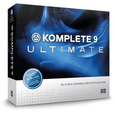 Music Production - Native Instruments KOMPLETE 9 ULTIMATE - Virtual Instruments and Effects Collection - BTV Professional Music Production Software works as a standalone application or with your DAW as a VST or AU plugin (optional). Audio Music, Recorder Music, Dj Music, Music Lyrics, Music Stuff, Studio Equipment, Studio Gear, Dj Equipment, Studio Setup