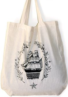 Tote Bag by myfolklover on Etsy, $15.00