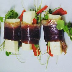 Duck Prosciutto & Manchego  We know how to satisfy the palate.  #Westin #cravings #duck #nomnomnom #novascotiaeats #explorecanada #explorenovascotia #foodporn #cheese
