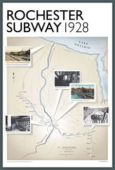Rochester Subway Poster (24x36)