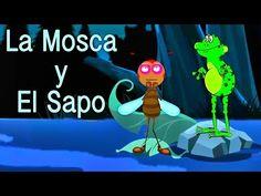 ▶ ✫Cuentos para ir a dormir ✫ - La Mosca y El Sapo - Relajar y calmar a los niños # - YouTube