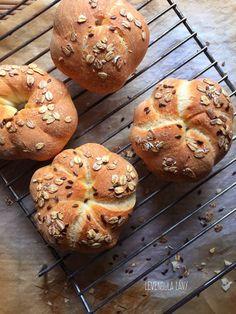 Öregtészta   levendulalány Ciabatta, Winter Food, Bagel, Biscuits, Rolls, Buns, Breads, Crack Crackers, Bread Rolls