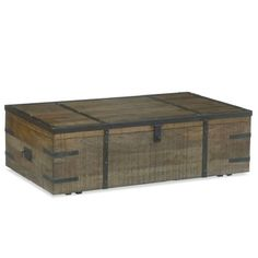 trunk coffee table and end tables