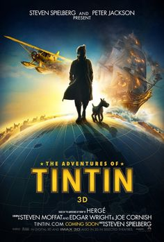 Tintin the movie on Dec. 23, 2011! Exciting!