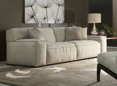 Moore Sofa | Fabric or leather | Many sizes available | American Leather
