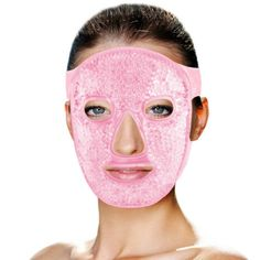 Ice Face Mask, Cold Face Mask, Best Face Mask, Gel Frio, Girly, Puffy Eyes, Diy Mask, Facial Masks, Face Facial