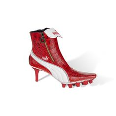 What a soccer girl wears to prom! A high heel that my daughter would maybe consider wearing! ;)