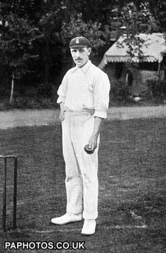 Cricket 1902 Wilfred Rhodes, Yorkshire and England
