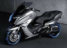 BMW Maxi Scooter 2012