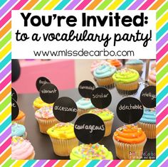 You're Invited: To A Vocabulary Party!