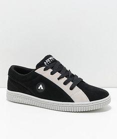 Airwalk Random Black   White Skate Shoes 2b7e9bc595e