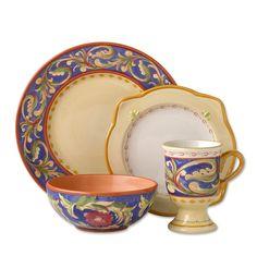 Pfaltzgraff Villa Della Luna Dinnerware Set, 16 Pc. #Pfaltzgraff