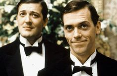 """Jeeves and Wooster""...Stephen Fry and Hugh Laurie"