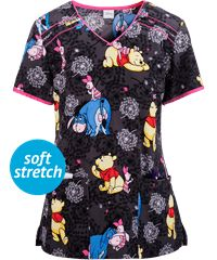 c39287d546b Print Scrub Tops for Women: Large Selection and Discount Pricing at UA