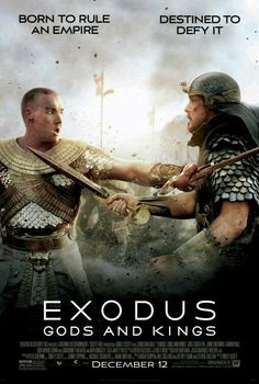 Exodus God's and Kings movie poster #movieposter #scifi #MovieReview #movietwit #movieposters #adventure #scififantasy #artwork #action