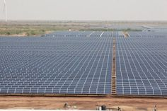 India: World's largest solar photovoltaic power plant (5,000acre -size of Lower Manhattan). After only 14mos of prep, they've switched it on, adding 600 Mw to the grid -enough to power a medium-sized city's of homes.     India has ambitious plans for moving to sustainable energy -15% renewables by 2020 - up from 6% currently.