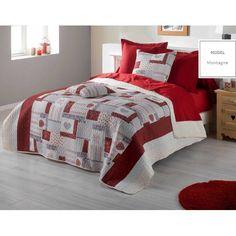Vintage prehoz na manželskú posteľ v krémovo červenej farbe Hotel Bed, Decoration, Bedding Sets, Comforters, Blanket, Vintage, Bedroom, Luxury, Furniture