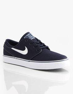 77d1c72b34c7 Nike SB Zoom Stefan Janoski Skate Shoes - Obsidian White Black -  RouteOne.co.uk